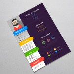 Stylish Colorful Resume