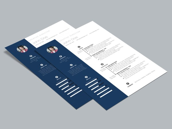 Zoki Resume Template - Free Resume Template with Simple and Elegant Look