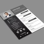 Elegant Black Resume