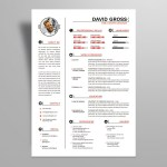 Gross Resume Template