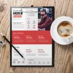 Swiss Typographic Resume