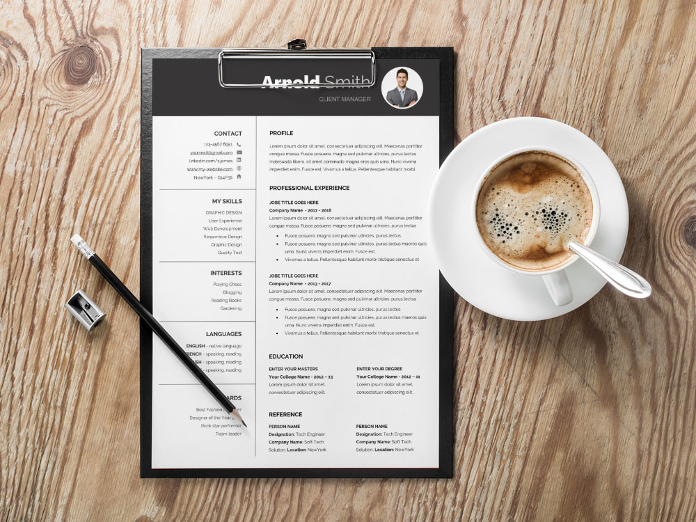 Here Is Free Classic Resume Template With Formal Design For Your Next Job Opportunity If You Are Aesthetically Aware Individual Who Wants To Build