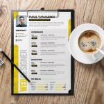 Creative Multicolor Resume