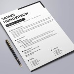 Journalist Word Resume