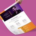 Flat Stylish Resume