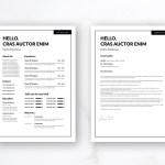 Minimal Editable Resume