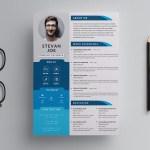 Modern PSD Resume