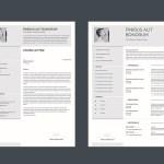Minimal Eye-catchy Resume
