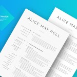 Alice Maxwells Resume