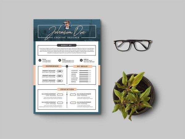 Free Creative General Resume Template