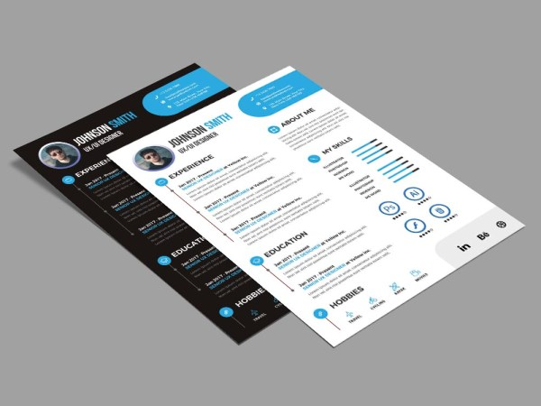 Free Modern Style Resume Template for any Job Opportunity