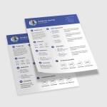Professional PSD CV/Resume