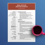 Real Estate Agent Resume