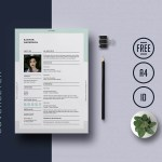 Universal Indesign Resume