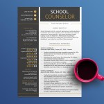 School Counselor Resume