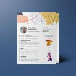 Trendy Indesign Resume