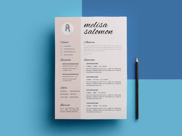 Free Resume Template -Panama