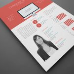 Flat Indesign Resume Template