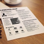 Lebenslauf Resume Template