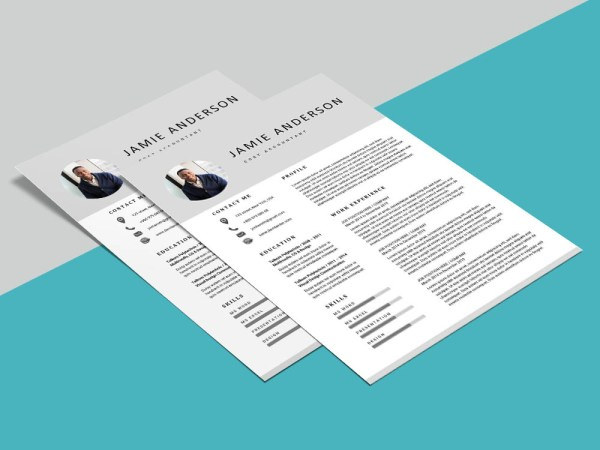 Free Cost Accountant Resume Template with Professional Look