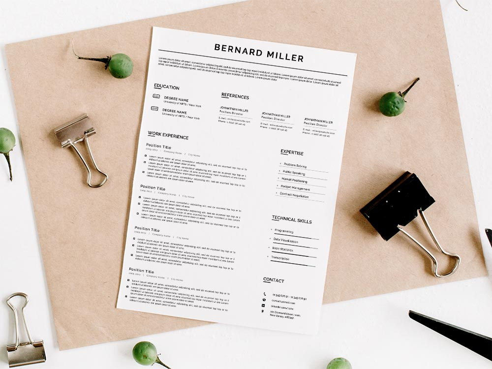 Free General Google Docs Resume Template