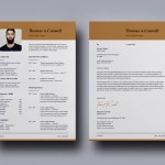 Modern Indesign Resume + Cover Letter