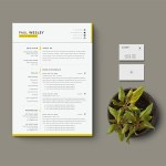 Resume with Cover Letter and Business Card