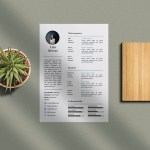 Simple MS Word Resume