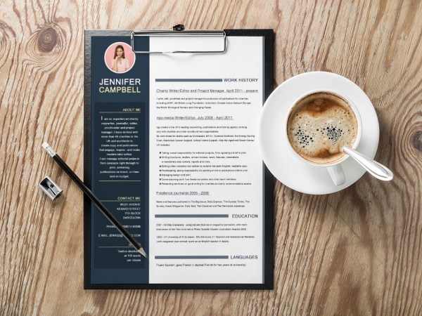 Free Writer Resume Template
