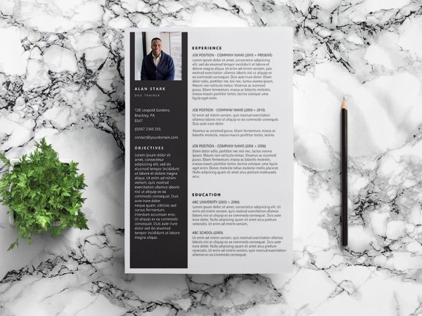 Free Dog Trainer Resume Template with Clean Look