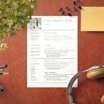 Florist CV/Resume Template