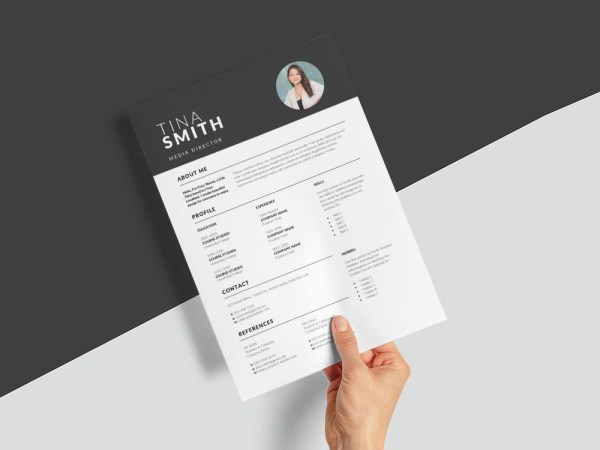 Free Media Director Resume Template with Professional Look
