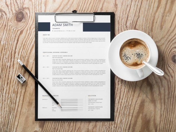 Free Telemarketers Resume Template with Clean and Professional Look