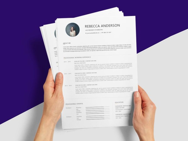 Free Vice President Of Marketing Resume Template with Professional Look