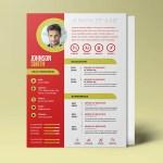 Designer CV Resume Tempate