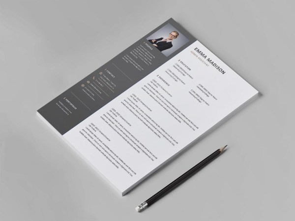 Free Admin Assistant Resume Template