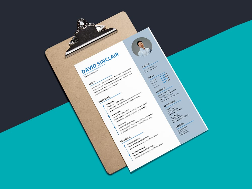 Free Business Manager Curriculum Vitae Template