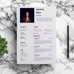 Coaching CV Resume Template