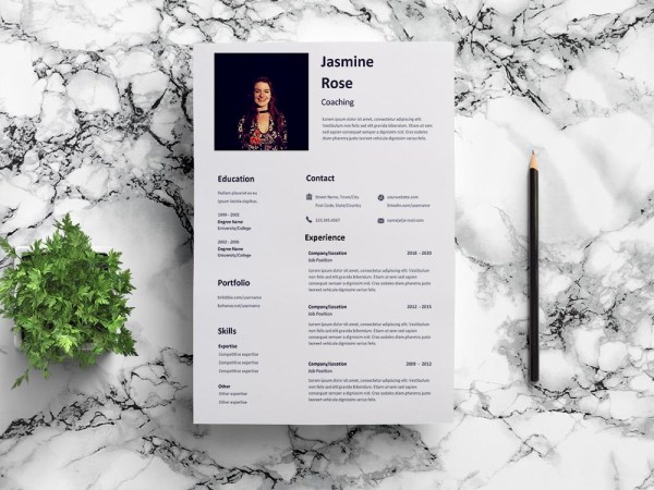 Free Coaching Resume Template