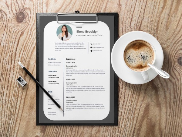 Free Customer Service Officer Resume Template