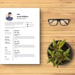 Photojournalist Resume Template