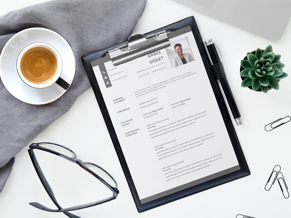 Free Administration Officer Resume Template