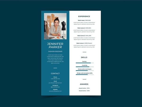 Free Apparel Designer Resume Template