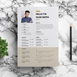 Barista Resume Template