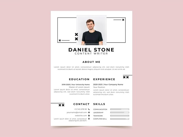 Free Content Writer Resume Template