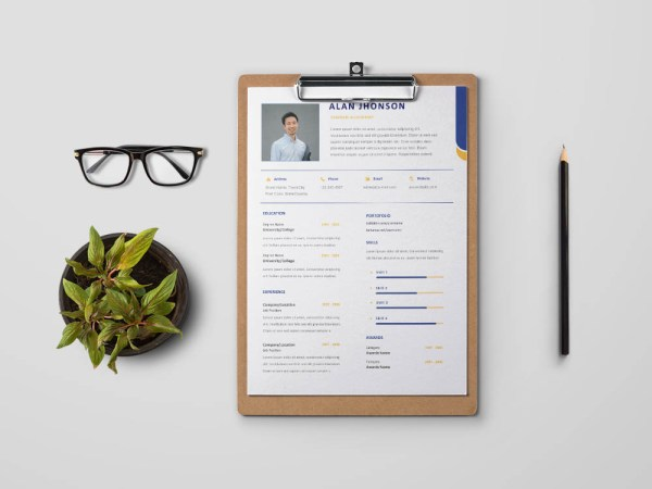 Free Graduate Accountant Resume Template