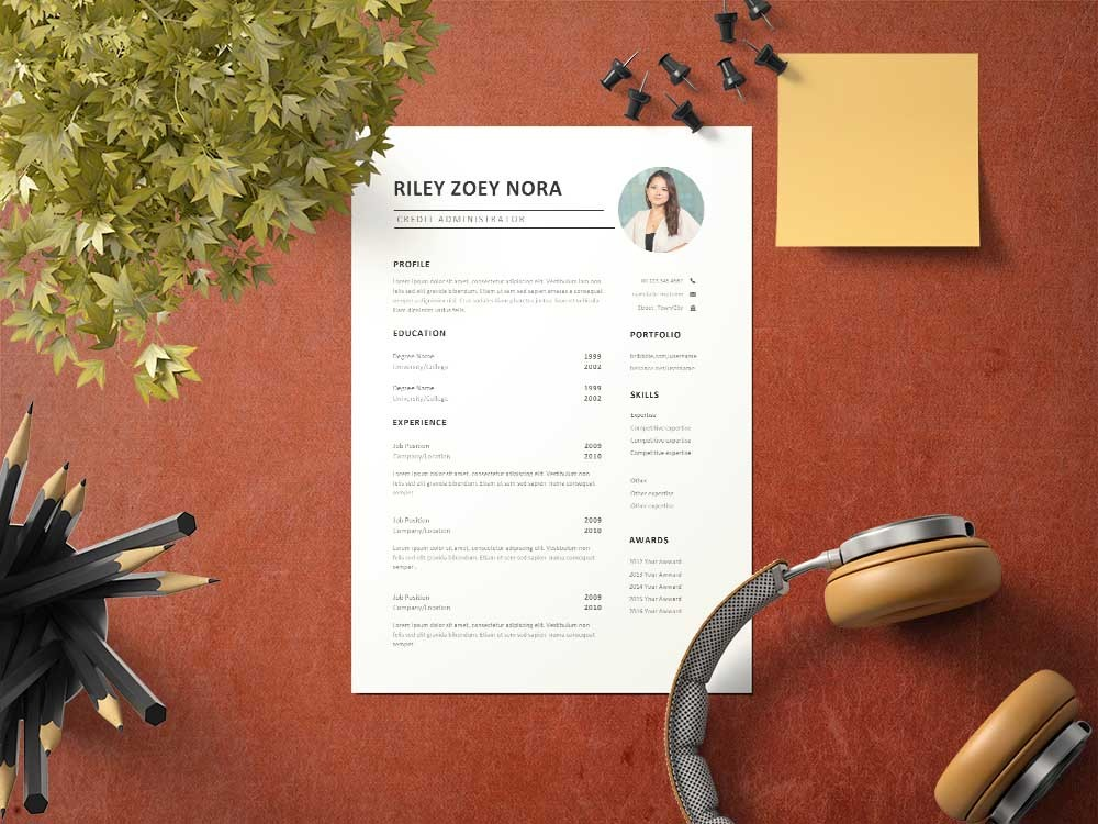 Free Credit Administrator Resume Template