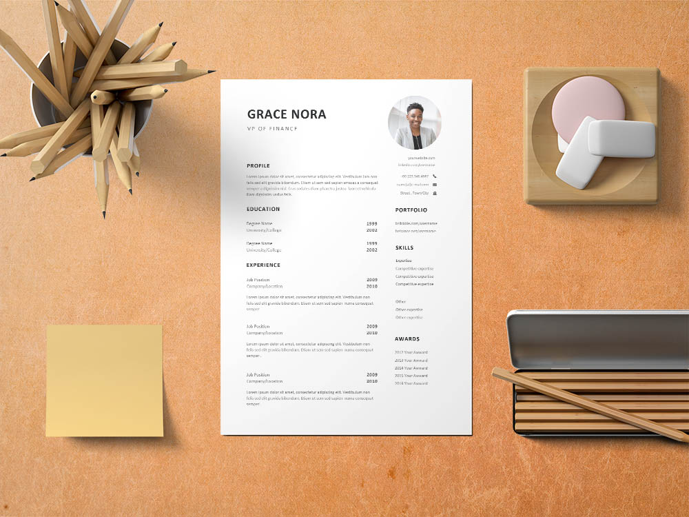 Free VP Of Finance Resume Template