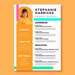 Primary School Teacher Resume