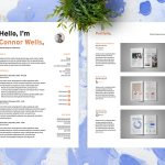 Editable Indesign CV Resume